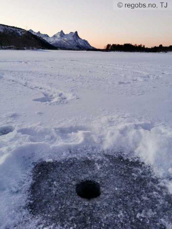 Bilde til isvarselet for Nordland