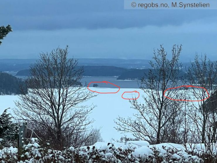 Bilde til isvarselet for Østlandet