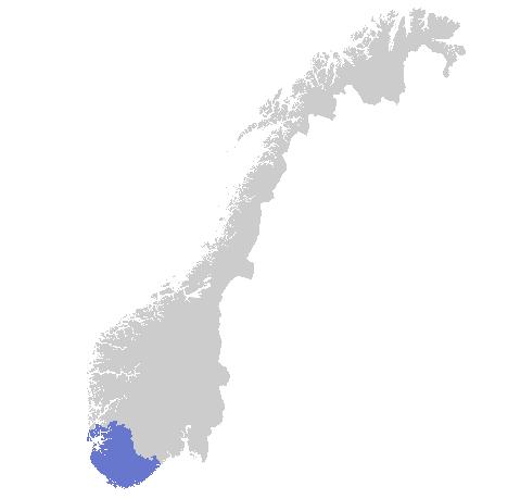 Varslingsområde Rogaland - Agder