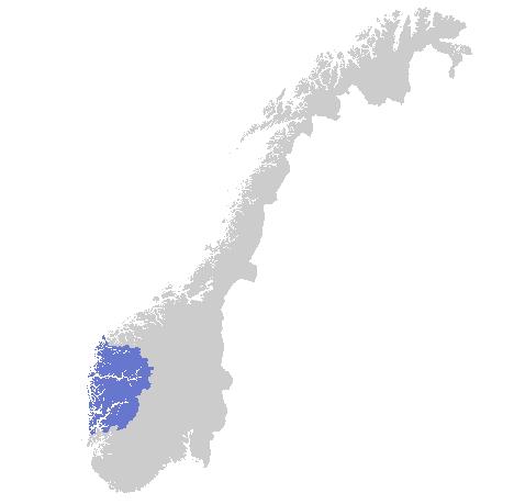 Varslingsområde Sogn og Fjordane - Hordaland